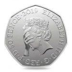 Ny 50 pence Brexit mønt!